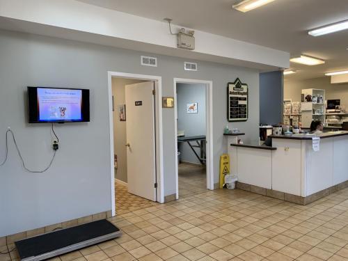 Examination rooms at Fairmont Animal Hospital